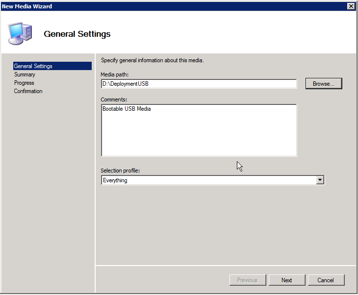 Create bootable USB for MDT | Sysadmin Lab