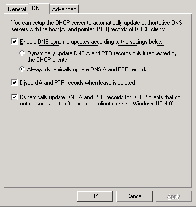 My best practices on DNS and DHCP setup in a Windows network