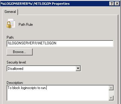 Disable/Block running logon script in Citrix/TS/RDS environments